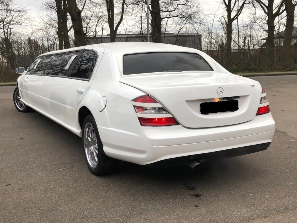 Mercedes Benz S Klasse hinten