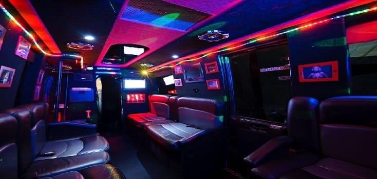 Partybus klein innen