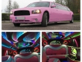 Dodge Charger Pink innen